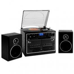 Auna 388-BT Hifi Stereoanlage mit Plattenspieler | Vinyl Galore