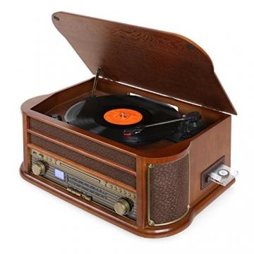 Auna Belle Epoque 1908 Retro Plattenspieler | Vinyl Galore