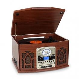 Auna Musiktruhe NR-620 Analog Plattenspieler | Vinyl Galore