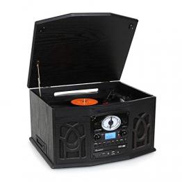 Auna NR-620 Analoge Musiktruhe, Plattenspieler | Vinyl Galore