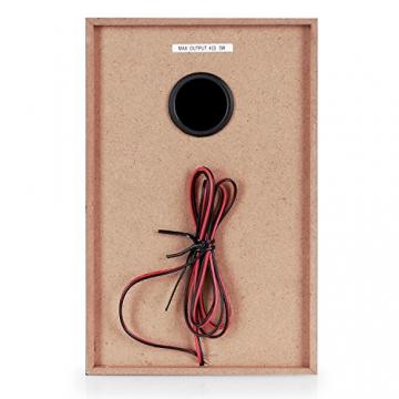 Auna Stereoanlage Kompakt Hifi Anlage mit Plattenspieler (Doppel-CD-Player mit Aufnahmefunktion, UKW-Radio, AUX, Kassette) schwarz - 7