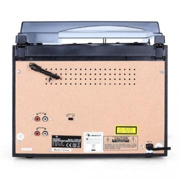 Auna TC-386WE  Stereoanlage (MP3/Kassette/CD Plattenspieler, USB) schwarz - 5