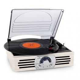Auna TT-83N Holz Schallplattenspieler | Vinyl Galore