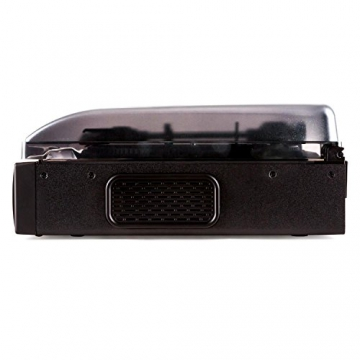 Auna TT 881 Plattenspieler MP3 USB SD UKW/MW Encoder schwarz - 4