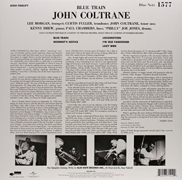 Blue Train Limited Edition Downloadcode Vinyl Lp