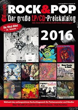 Der große Rock & Pop LP / CD Preiskatalog 2016 - 1