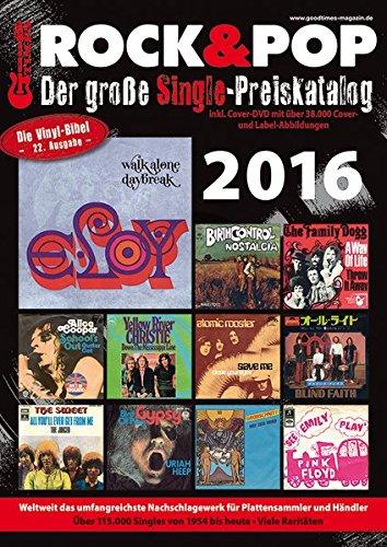 Der große Rock & Pop Single Preiskatalog 2016 -