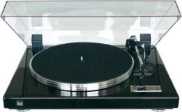 Dual CS 460 Schallplattenspieler Klavierlack schwarz/silber - 1