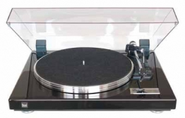 Dual CS 460 Vollautomatischer Plattenspieler (DC-Motor, Kardan-Tonarm, OMB 10 Magnet-Tonabnehmer) Klavierlack schwarz - 1