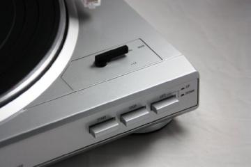 Dual DT 200 USB Schallplattenspieler (3 Watt, 50Hz, USB 2.0) silber - 3