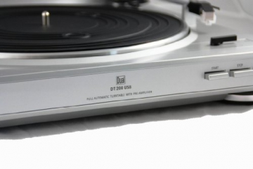 Dual DT 200 USB Schallplattenspieler (3 Watt, 50Hz, USB 2.0) silber - 4