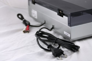Dual DT 200 USB Schallplattenspieler (3 Watt, 50Hz, USB 2.0) silber - 5