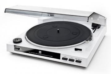 Dual DT 210 USB Schallplattenspieler mit Digitalisierungsfunktion (USB, Auto-Stop/Start-Funktion, Riemenantrieb, Magnet-Tonarmabnehmer-System) weiß - 2