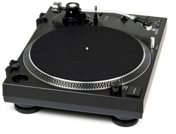 Dual DTJ 301.2 USB DJ-Plattenspieler mit 2 Abtastnadeln, Pitch-Control, Magnet-Tonabnehmer-System, Nadelbeleuchtung, Digitalisierungs-Funktion inkl. Software, USB Kabel schwarz - 3