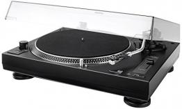 Dual DTJ 301.2 USB DJ-Plattenspieler mit 2 Abtastnadeln, Pitch-Control, Magnet-Tonabnehmer-System, Nadelbeleuchtung, Digitalisierungs-Funktion inkl. Software, USB Kabel schwarz - 1