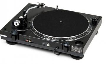 Dual DTJ 301.2 USB DJ-Plattenspieler mit 2 Abtastnadeln, Pitch-Control, Magnet-Tonabnehmer-System, Nadelbeleuchtung, Digitalisierungs-Funktion inkl. Software, USB Kabel schwarz - 4