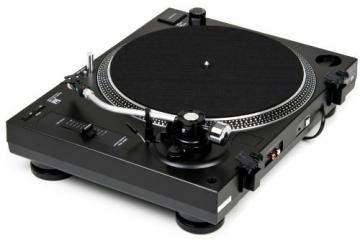 Dual DTJ 301.2 USB DJ-Plattenspieler mit 2 Abtastnadeln, Pitch-Control, Magnet-Tonabnehmer-System, Nadelbeleuchtung, Digitalisierungs-Funktion inkl. Software, USB Kabel schwarz - 5