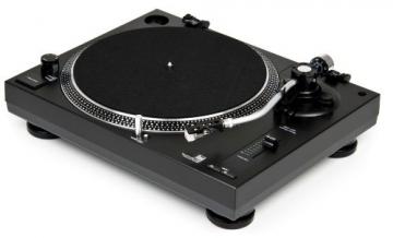 Dual DTJ 301.2 USB DJ-Plattenspieler mit 2 Abtastnadeln, Pitch-Control, Magnet-Tonabnehmer-System, Nadelbeleuchtung, Digitalisierungs-Funktion inkl. Software, USB Kabel schwarz - 6