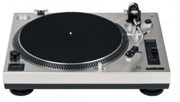 Dual DTJ 301 USB DJ-Plattenspieler (33/45 U/min, Pitch-Control, Magnet-Tonabnehmer-System, Nadelbeleuchtung, USB) silber - 3