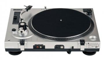 Dual DTJ 301 USB DJ-Plattenspieler (33/45 U/min, Pitch-Control, Magnet-Tonabnehmer-System, Nadelbeleuchtung, USB) silber - 6