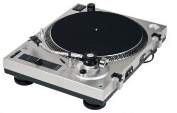 Dual DTJ 301 USB DJ-Plattenspieler (33/45 U/min, Pitch-Control, Magnet-Tonabnehmer-System, Nadelbeleuchtung, USB) silber - 7