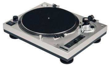 Dual DTJ 301 USB DJ-Plattenspieler (33/45 U/min, Pitch-Control, Magnet-Tonabnehmer-System, Nadelbeleuchtung, USB) silber - 8