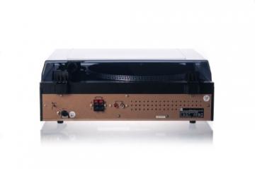 Dual NR 100 Stereo-Kompaktanlage mit Schallplattenspieler (PLL-UKW-Tuner, CD/MP3-Player, 30 Senderspeicherplätze, Direct-Encoding, 3,5mm Klinke, SD-Kartenslot) schwarz - 5