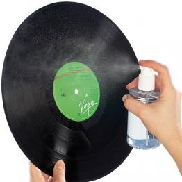 Dynavox Platten-Reinigungs-Set: 200 ml Sprühreiniger + Tuch - 1