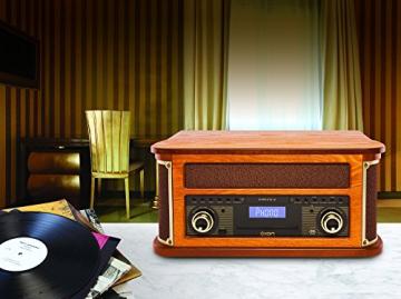 Ion Audio Complete LP 7-in-1 Stereo Musikanlage im Nostalgie Retro-Design - 2
