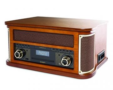 Ion Audio Complete LP 7-in-1 Stereo Musikanlage im Nostalgie Retro-Design - 3