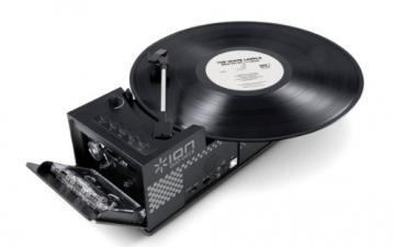 ION Audio Duo Deck USB-Plattenspieler und Tape Konverter schwarz - 2