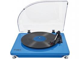 ION AUDIO iT51B Pure LP Plattenspieler (USB) blau - 1