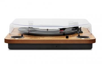Ion Audio MAX LP | USB Digital Encoder Vinyl Plattenspieler / Turntable mit eingebauten Stereo Lautsprechern - inkl. Converter Software (MAC/PC) - 2