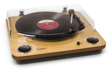 Ion Audio MAX LP | USB Digital Encoder Vinyl Plattenspieler / Turntable mit eingebauten Stereo Lautsprechern - inkl. Converter Software (MAC/PC) - 4