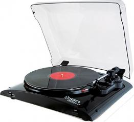 Ion Audio Profile LP | Vinyl Plattenspieler / Turntable und USB Digital Encoder - inkl. Converter Software (MAC/PC) - 1