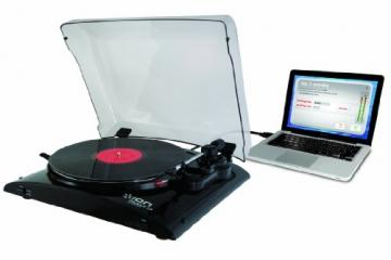 Ion Audio Profile LP   Vinyl Plattenspieler / Turntable und USB Digital Encoder - inkl. Converter Software (MAC/PC) - 4