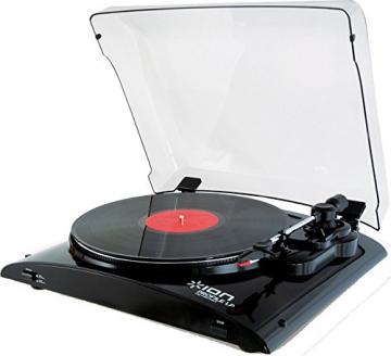 Ion Audio Profile LP   Vinyl Plattenspieler / Turntable und USB Digital Encoder - inkl. Converter Software (MAC/PC) - 1