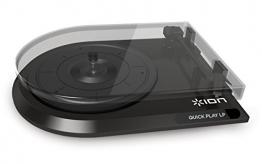 Ion Audio Quickplay | Vinyl Plattenspieler / Turntable und USB Digital Encoder mit Cinch-Ausgang - inkl. Converter Software (MAC/PC) - 1