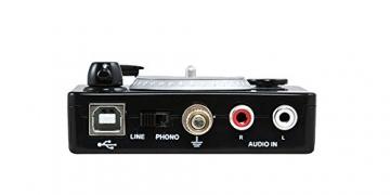 Ion Audio Vinyl Forever | Plattenspieler-zu-Computer Adapter (USB) - inkl. Software für PC / Mac - 2