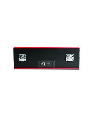 Ion Audio Vinyl Transport   Transportabler Retro Koffer Plattenspieler mit eingebauten Stereo Lautsprechern - kann auch über AA Batterien betrieben werden - 6