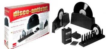 Knosti 1300001 Disco-Antistat-Schallplattenwaschmaschinen Set, mit Knosti Disco Antistat Mixture Nachfüll Flüssigkeit für Schallplattenwaschmaschine. Sparset von technik@all ! - 2