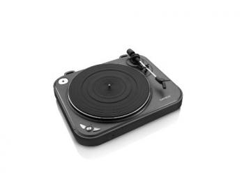 Lenco L-83 USB-Plattenspieler mit Direct Encoding metallic-grau - 11