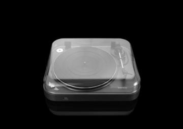 Lenco L-83 USB-Plattenspieler mit Direct Encoding metallic-grau - 15