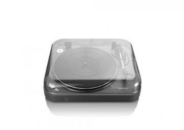 Lenco L-83 USB-Plattenspieler mit Direct Encoding metallic-grau - 4