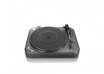 Lenco L-83 USB-Plattenspieler mit Direct Encoding metallic-grau - 5