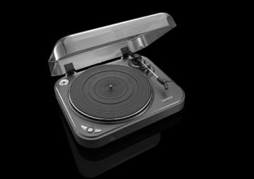 Lenco L-83 USB-Plattenspieler mit Direct Encoding metallic-grau - 6