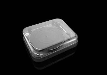 Lenco L-83 USB-Plattenspieler mit Direct Encoding metallic-grau - 7