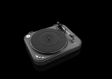 Lenco L-83 USB-Plattenspieler mit Direct Encoding metallic-grau - 8