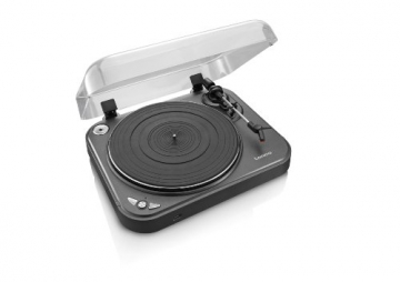 Lenco L-83 USB-Plattenspieler mit Direct Encoding metallic-grau - 9