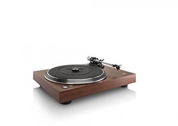 Lenco L-90 Holzgehäuse Plattenspieler mit USB und Vorverstärker - 3